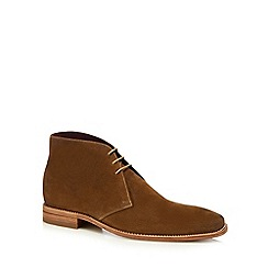 Loake - Tan suede 'Trapper' chukka boots