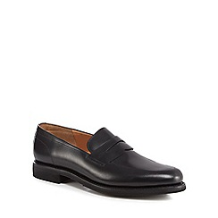 Loake - Black leather 'Centauri' loafers