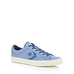 Converse - Blue canvas 'Star Player' trainers