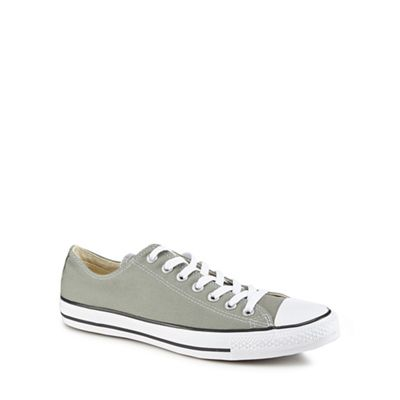 Converse - Khaki 'Chuck Taylor All Star' lace up trainers