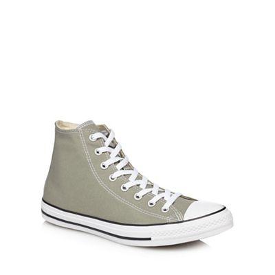 Converse - All Khaki canvas 'Chuck Taylor All - Star' hi-top trainers 2ba7f4