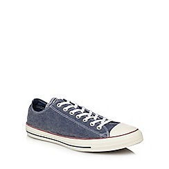 Converse - Navy canvas 'Chuck Taylor All Star' lace up trainers