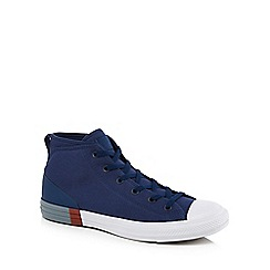 Converse - Navy canvas 'Chuck Taylor All Star' hi-top trainers