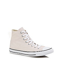Converse - Mid rose 'Chuck Taylor All Star' hi-top trainers