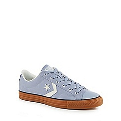 Converse - Grey canvas 'Star Player' trainers