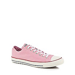 Converse - Pink canvas 'Chuck Taylor All Star' trainers