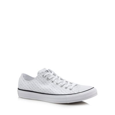 Converse - White 'Chuck Taylor All Star' trainers