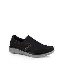 Skechers - Black 'Equalizer Persistent' slip-on trainers