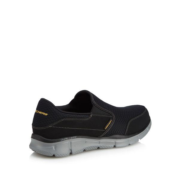 Skechers on 'Equalizer trainers Black Persistent' slip rvqrf86w