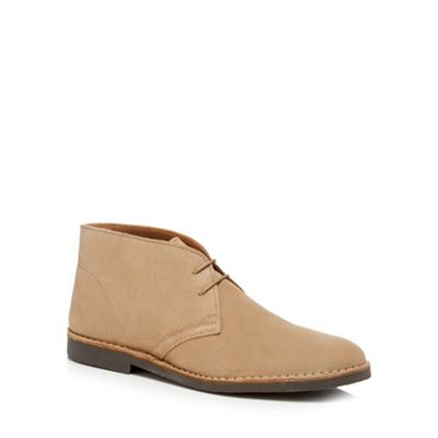 Loake - Light tan suede 'Sahara Sand' chukka boots