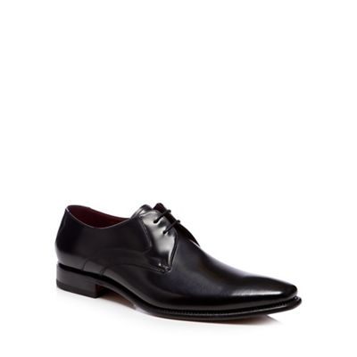 Loake   Black Leather 'vincent' Derby Shoes by Loake