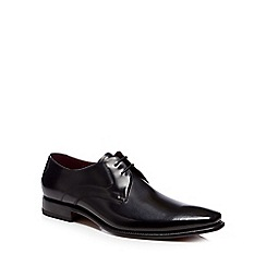 Loake - Black leather 'Vincent' Derby shoes