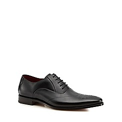Loake - Black leather 'Gunny' Oxford shoes
