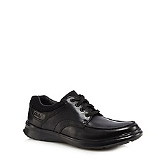 Clarks - Black leather 'Cotrell Edge' lace up shoes