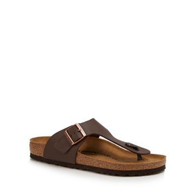 Birkenstock - Brown 'Ramses' sandals Fashionable and eye-catching shoes