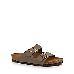 Birkenstock - Natural 'Arizona' double strap sandals
