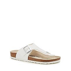 Birkenstock - White 'Ramses' sandals