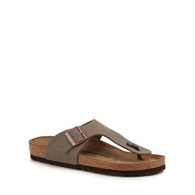 Birkenstock - Natural 'Ramses' sandals Fashionable and eye-catching shoes