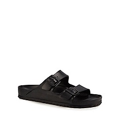 Birkenstock - Black 'Arizona Eva' double strap sandals
