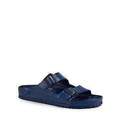 Birkenstock - Blue 'Arizona Eva' double strap sandals