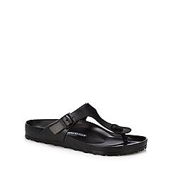 Birkenstock - Black 'Gizeh Eva' sandals