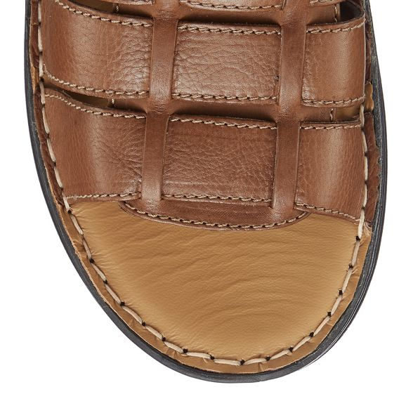 Hush Brown sandals 'Spectrum' Puppies leather wfw08Cq