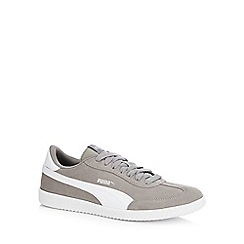 Puma - Taupe suede 'Astro Cup' trainers