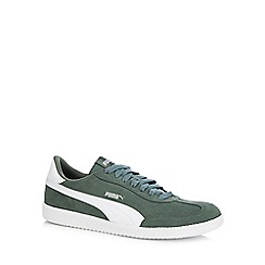 Puma - Green suede 'Astro Cup' trainers