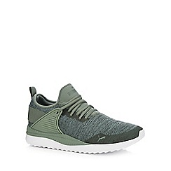 Puma - Green knitted 'Pacer Next' trainers