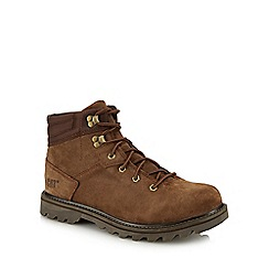 Caterpillar - Brown suede 'Exigent' hiking boots
