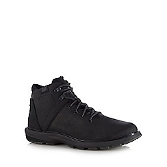 Caterpillar - Black 'Factor Waterproof TX' lace up boots