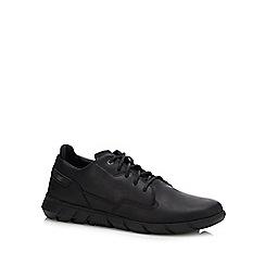 Caterpillar - Black leather 'camberwell flex' trainers