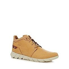 Caterpillar - Tan nubuck 'Hendon' chukka boots