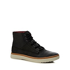 Caterpillar - Black nubuck leather 'Kriek' lace up boots