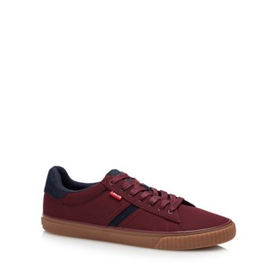 levi's red 'skinner' trainers