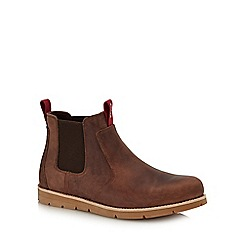 Levi's - Brown leather 'Jax' Chelsea boots