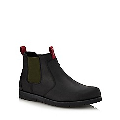 Levi's - Black leather 'Jax' Chelsea boots