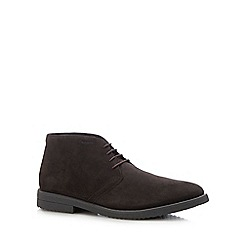 Geox - Brown suede 'Brandled' chukka boots