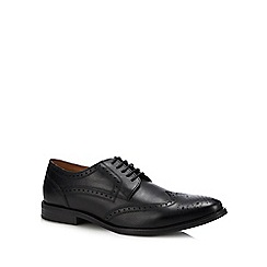 Base London - Black Leather 'Rool' Brogues