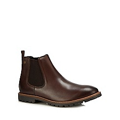 Base London - Brown leather 'Havoc' Chelsea boots