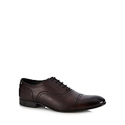 Base London - Brown leather 'Viola' Derby shoes