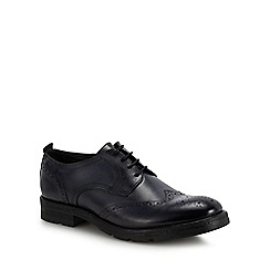 Base London - Navy leather 'Murphy' brogues