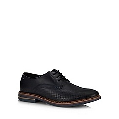Base London - Navy Leather 'Blake' Derby Shoes