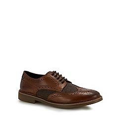 Base London - Tan leather 'Rothko' brogues