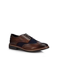 Base London - Brown Leather 'Rothko' Brogues