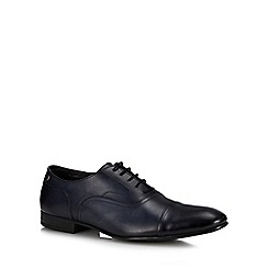 Base London - Navy Leather 'Viola' Derby Shoes