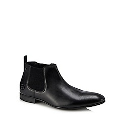 Base London - Black leather 'Croft' Chelsea boots