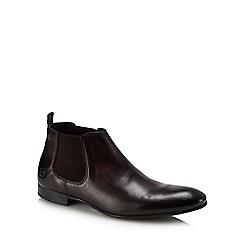 Base London - Brown leather 'Croft' Chelsea boots