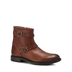 Base London - Tan leather 'Ortiz' boots