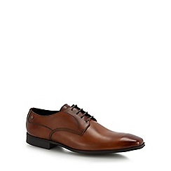 Base London - Tan leather 'Tyne' Derby shoes